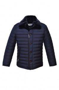 Men's winter jacket Mone blue