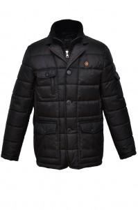 Jacket man's demi-season model 2 (black)