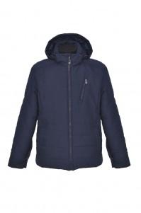 Men's demi-season jacket (blue, short)
