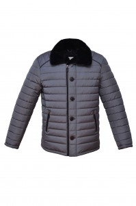 Куртка чоловіча зимова Моне сіра