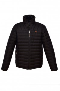 Jacket man's demi-season model 3 (black)